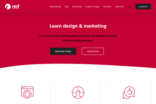 The Top 5 Ways to Market Your Business Online  - http://blog.red-website-design.co.uk