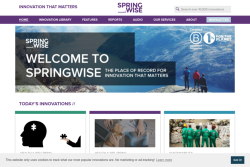 A marketplace for unused brands - http://www.springwise.com