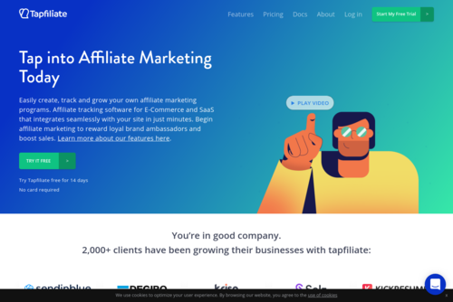 How to Automate Your New Affiliate Onboarding Process using Process Street via Zapier - https://tapfiliate.com