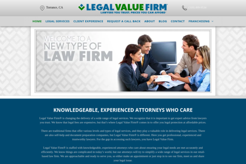 Legal Value Firm Principal Attorney Featured on Lawpreneur Radio  - http://www.legalvaluefirm.com