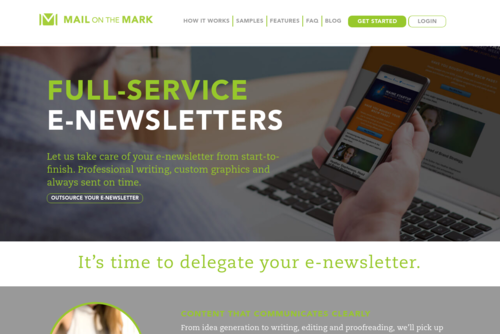 6 E-Newsletter Best Practices for 2016  - http://www.mailonthemark.com