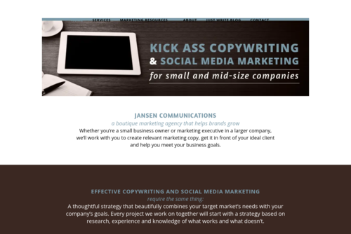 How to Put Together a Content Strategy Jansen Communications Blog  - http://jansencomm.com
