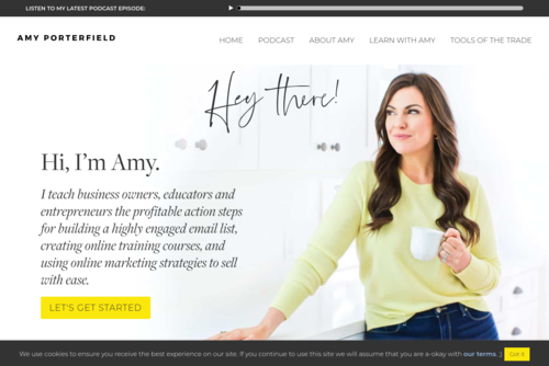 #98: Four Big Lies We Tell Our Entrepreneurial Selves - Amy Porterfield - http://www.amyporterfield.com