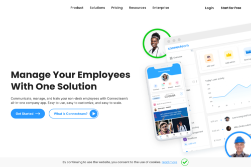 10 Reasons You\'re not Connecting with Your Deskless and Dispersed Employees - https://connecteam.com