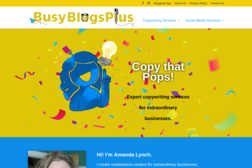 How to Become a Business Blogging Rock Star And Amplify Conversions - http://www.busyblogsplus.com