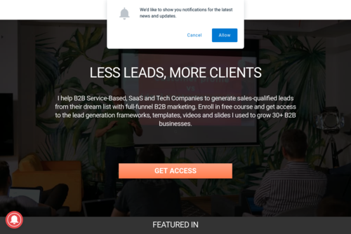 Resources which will simplify your marketing and help to grow your business - https://getleado.com