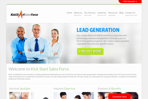 Good Lead Generation Starts with Leading By Example  - http://www.kickstartsalesforce.com