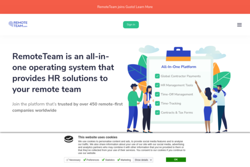 Companies Building Tools for Remote Teams  - https://www.remoteteam.com