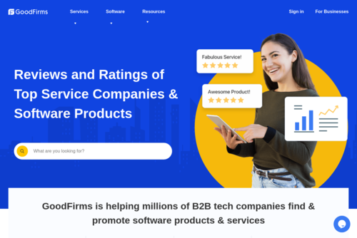 Top 10 Mobile App Development Firms - GoodFirms - https://www.goodfirms.co