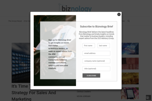 Make the most of your CRM this year - Biznology - http://www.biznology.com