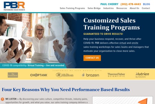 The Wow Factor Sends Customer Satisfaction Sky High - http://www.pbresults.com