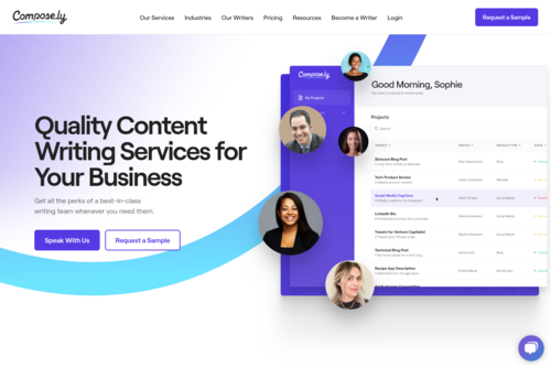 How to Pitch (and Write for) the Swankiest Sites on the Web  - https://compose.ly
