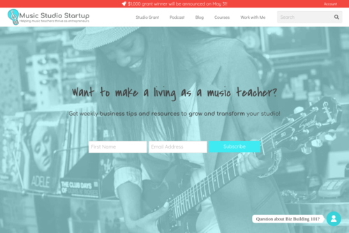 Systems for Music Studio Owners - https://www.musicstudiostartup.com