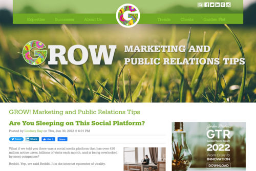 The Power of Reddit for Business and Marketing - http://grow.gardenmediagroup.com
