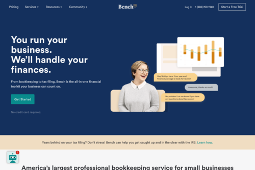 The Difference Between Bookkeeping and Accounting - https://bench.co