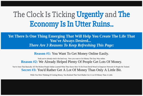 How To Quickly Raise Your First 1,000 Dollars Online  - http://www.empowernetwork.com