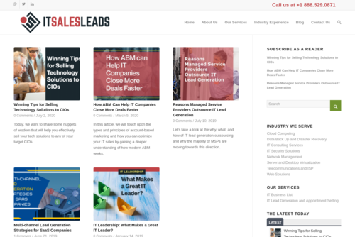 Proof that Email Marketing is Not DEAD  - http://www.blog.it-sales-leads.com