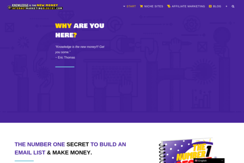 Here\'s How To Become A Successful Blogger (My Secret Revealed) - IMBlog101 - Best Internet Marketing Blog For Newbies - https://internetmarketingblog101.com