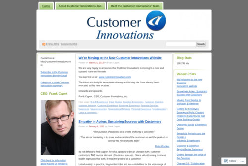 """Putting the """"Signature"""" in a Signature Experience - http://customerinnovations.wordpress.com"""