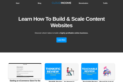 Why A Website Should Be Your Next Investment - http://www.cloudincome.com