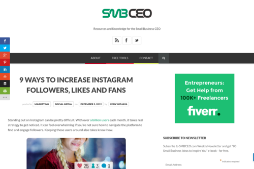 9 Ways to Increase Instagram Followers, Likes and Fans  - www.smbceo.com/2019/12/05/9-ways-to-increase-instagram-followers-likes-and-fans/