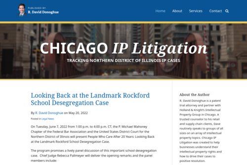 What IP litigators and litigants need to know about trust - http://www.chicagoiplitigation.com