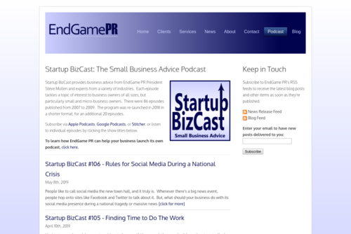 Startup BizCast #86 - How Social Media Changed PR - http://www.startupbizcast.com