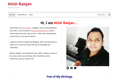 How to Choose the Perfect Theme for your Wordpress Blog? - http://www.atishranjan.com