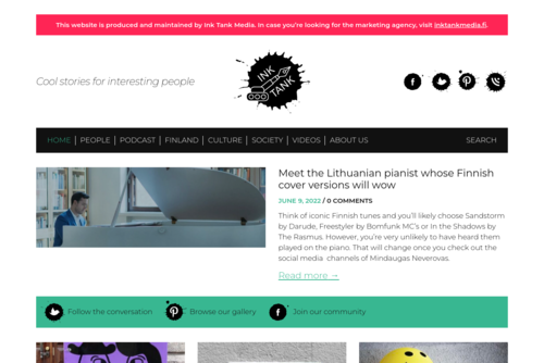 40 websites that will make you cleverer right now - http://inktank.fi