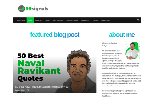 5 Steps to Optimize Your Landing Pages for High Conversion - http://www.99signals.com