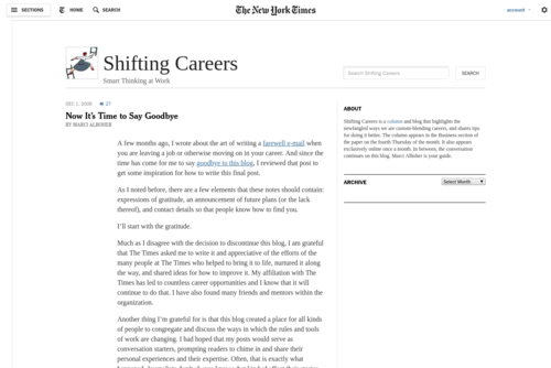 When the Assistant Is an Entrepreneur - http://shiftingcareers.blogs.nytimes.com