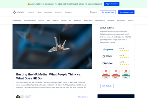 How to Keep Remote Employees Engaged and Happy?  - https://blog.empuls.io