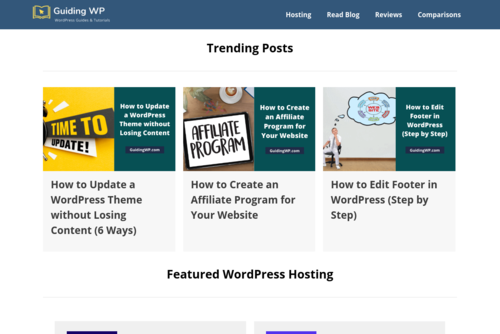 HostGator: Which WordPress Hosting Plan is Best For You? - GuidingWP - https://www.guidingwp.com