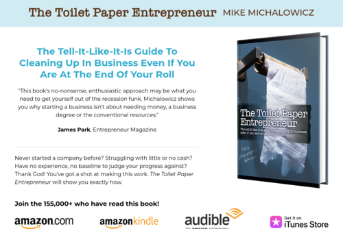 115 Marketing Strategies For Small Business - http://www.toiletpaperentrepreneur.com